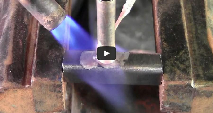 Запояване на месинг към стомана