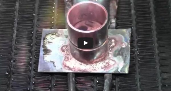 Използване на сребърен припой във вид на паста
